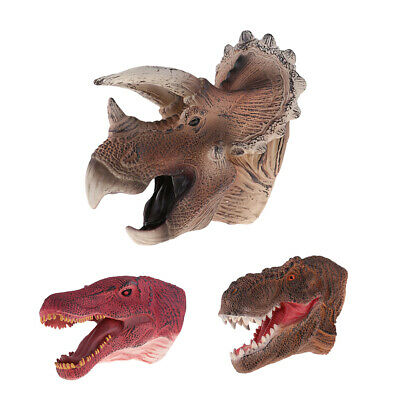 Jurassic World HAND PUPPET DINOSAUR FUN MOVING MOUTH KIDS PLAY TOY GLOVE ROLE UK