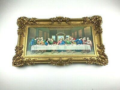 The Last Supper Jesus Painting Catholic Religious Made in Italy