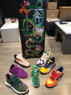 separation shoes a97ce 796a3 adidas X dragon ball Z collection complète collector taille 44