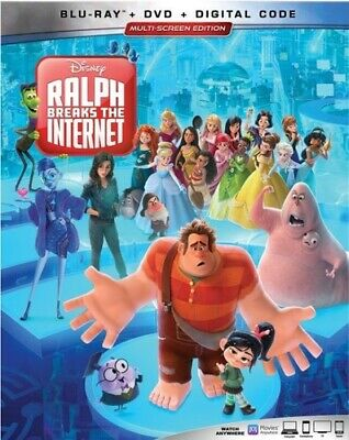 Ralph Breaks The Internet [New Blu-ray] With DVD, 2 Pack, Ac-3/Dolby Digital,