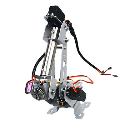 6DOF Stainless Steel Robot Arm 6 Axis Mechanical Robot Arm Kit for Arduino