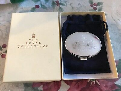 The Royal Collection Buckingham Palace Compact Mirror