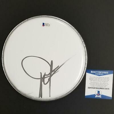 DWIGHT YOAKAM Autograph Signed Drumhead Country Music Star (F) ~ Beckett BAS COA