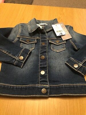 Baby Girl Denim Jacket 12-18 Months George