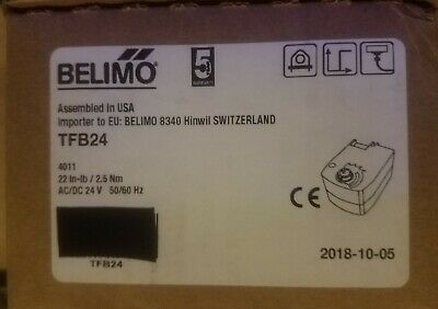BELIMO TFB24 22IN-LB/2.5Nm 24vac/vdc