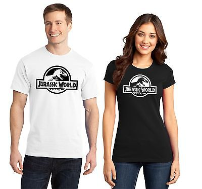 Jurassic World Park Homme T Shirt Femme Neuf Film Eventails Chris