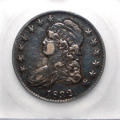 1832 Capped Bust Half Dollar ICG EF40 XF40 Details Large Letters