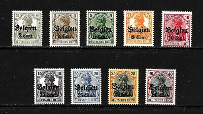 Hick Girl Stamp- Mnh. Belgium Issue Under German Occupation Stamps       X6756