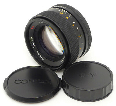 Contax Carl Zeiss Planar 50mm F1.4 T* AEJ Lens. Filter For Contax C/Y Mount