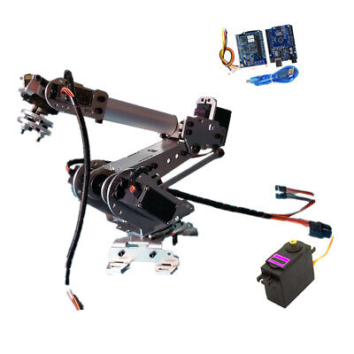 6 Axis Wifi Control 6DoF Metal Robot Arm Robotic Manipulator Arm for Arduino