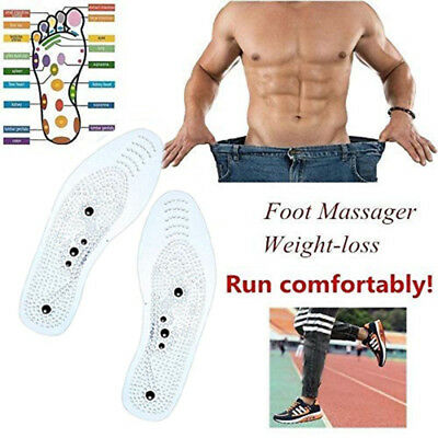 1 Pair MindInSole Acupressure Magnetic Massage Foot Pain Fat Relief Slimming