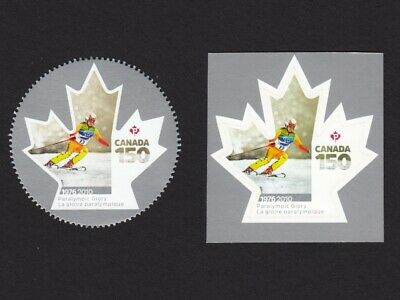 OLYMPIC = PARALYMPIC = CANADA 150 = Booklet & Minisheet pair MNH-VF Canada 2017