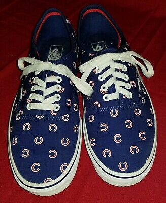 3e361c48fa8 VANS CHICAGO CUBS MLB Authentic Sneaker Limited Edition Shoes ...