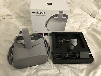 Barely Used Oculus Go 32 GB  Virtual Reality Headset Integrated Spatial Audio
