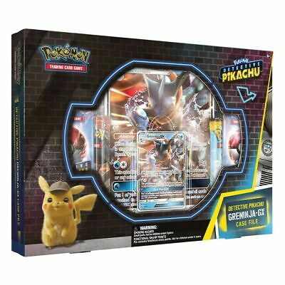 Pokemon TCG Greninja GX Box Detective Pikachu Special Case File 7 Packs PRESALE
