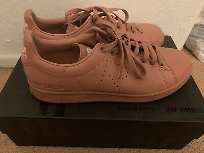 new product 7476f 3d287 ADIDAS X RAF SIMONS STAN SMITH ASH PINK SIZE 8.5 - $129.95 ...