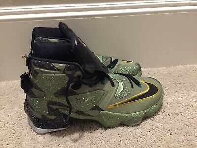 3654aefec26f Nike Lebron XIII 13 All Star Alligator US Green Black Mens Sz 11 835659 309  NEW