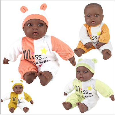 40 cm African black doll simulation baby doll Toys UK