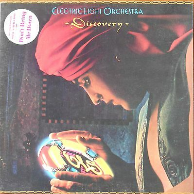 """Electric Light Orchestra - 'Discovery' 12"""" LP 33 RPM (1979) Very Good cond."""