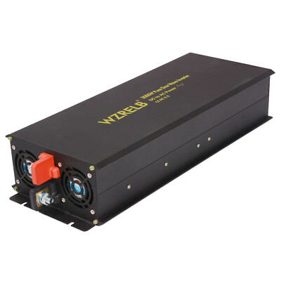 3000W Pure Sine Wave Inverter 12V to 120V DC to AC Car Power Inverter Truck Camp