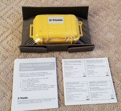 Trimble RealWorks TRW-202-01 Software for 3D Scanning Professionals