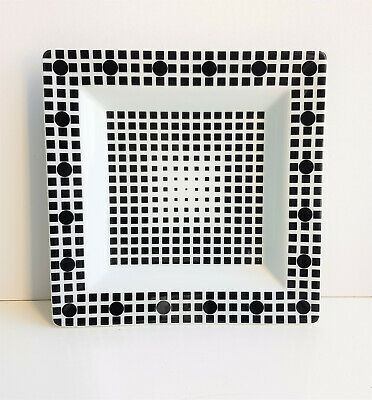 Victor Vasarely-Plate -Rosenthal Art Collection No 4.
