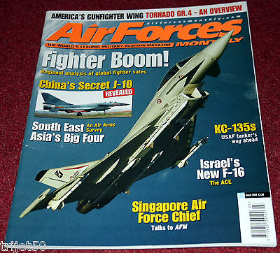 Air Forces Monthly 2002 March KC-135 USAF,Tornado,NATO AWACS,Finland F-18