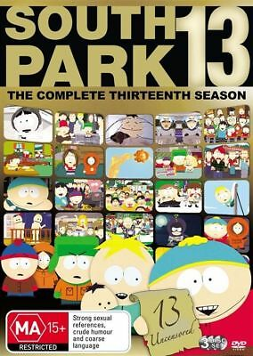 South Park COMPLETE SEASON 13 : NEW DVD