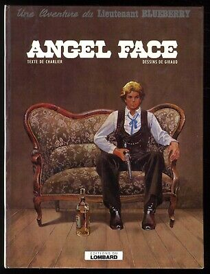 BLUEBERRY  n°18  ANGEL FACE     GIRAUD / CHARLIER      LOMBARD  EO 1975