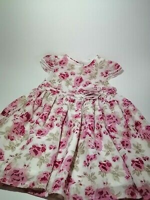 6dba206c871a5 Handmade Beautiful Summer Dress With Floral Design For Baby Girls 3 - 6  Months
