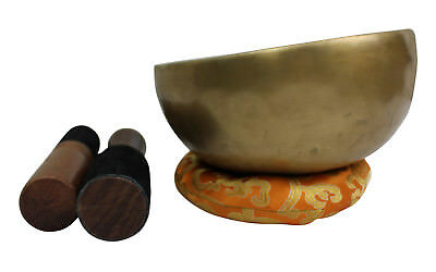 "Meditation Yoga Healing Singing Bowl Traditional Hand Beaten Nepal 934 g - ""A"""