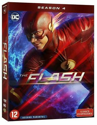 Flash Saison 4 Coffret Dvd Neuf Sous Cello