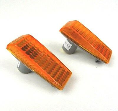 MERCEDES 190 E-CLASS C-CLASS S-CLASS Side Wing indicators Repeaters PAIR - Amber