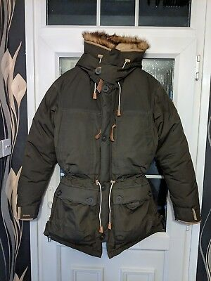 promo code 307a2 4fef8 FJALLRAVEN EXPEDITION DOWN Parka No.1 - worn once only, and with real fur  collar