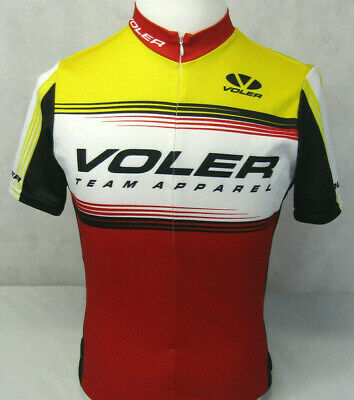 Voler Team Apparel USA Made Cycling Bicycle Athletic Jersey Shirt SS Mens M 5f6b7c72f