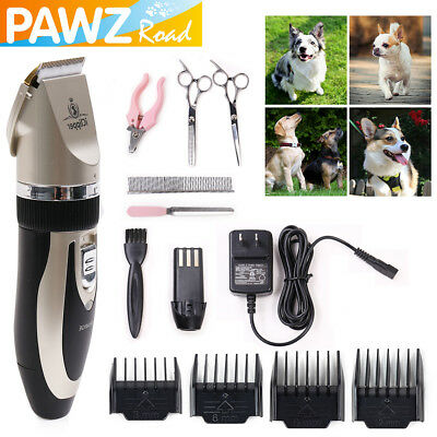 Pet Dog Grooming Trimmer Kit Dog Grooming Hair Clippers Cordless Pet Hair Shaver