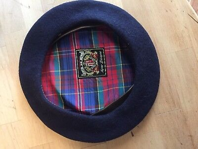 8c1df268a5e SUPER BASQUE FRENCH BERET Black 100% Wool MADE IN FRANCE -  20.00 ...