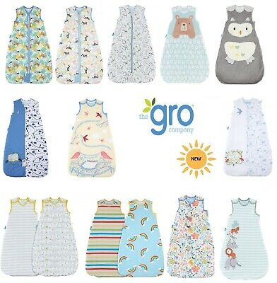Grobag Baby Sleeping Bag 0 6 18 36 months 3 6 10 years 2.5 tog all designs