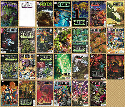 IMMORTAL HULK #1 2 3 4 THRU 15 + 1st PRINT MULTIPLE PRINTINGS CHOICE 2018 NM- NM