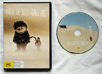 Where The Wild Things Are DVD PAL Region 4