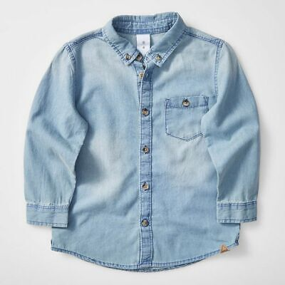NEW Lightweight Denim Shirt Kids
