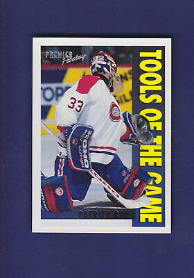 Patrick Roy Tools of the Game 1994-95 TOPPS Premier Hockey #310