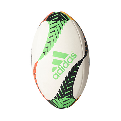 ADIDAS ALL BLACKS GRAPHIC RUGBY BALL Size 5 Rugby Union New Zealand Ball White