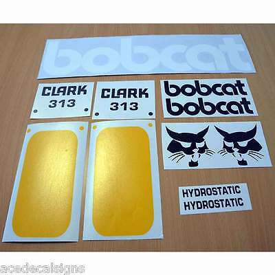 Bobcat 310 313 315 DECALS Stickers New Repro Kit
