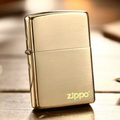 Gold Ice Zippo Lighter - AU Shipping
