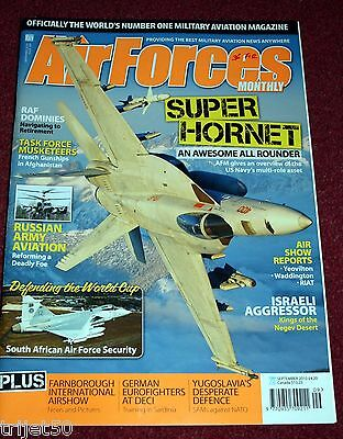 Air Forces Monthly 2010 September Cranwell Dominie,Russia,F/A-18 Hornet
