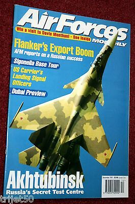 Air Forces Monthly 1997 December Sukhoi Su-27,NAS Sigonella