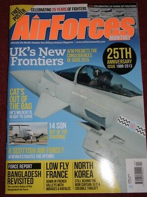 Air Forces Monthly Magazine 2013 April Bangladesh,France,908th EARS,Sweden