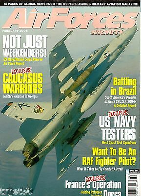 Air Forces Monthly Magazine 2005 February MFG-3,US Reserve