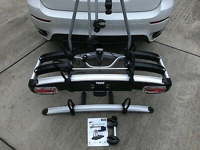 thule 929 euroclassic g6 led 4 bike carrier tow bar. Black Bedroom Furniture Sets. Home Design Ideas